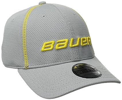 Amazon.com  Bauer Men s New Era 39Thirty Training Cap  Sports   Outdoors 6d180b9ced6