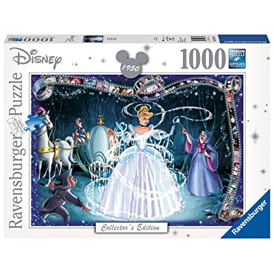 Ravensburger Disneys Cinderella Jigsaw Puzzle (1000 Piece): Varios: Toys & Games