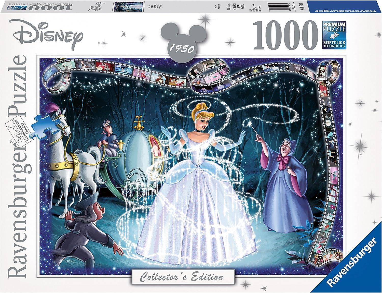 Ravensburger 19678 Disney Collector's Edition Cinderella 1000 Piece Jigsaw Puzzle 67% OFF £7.98 @ Amazon