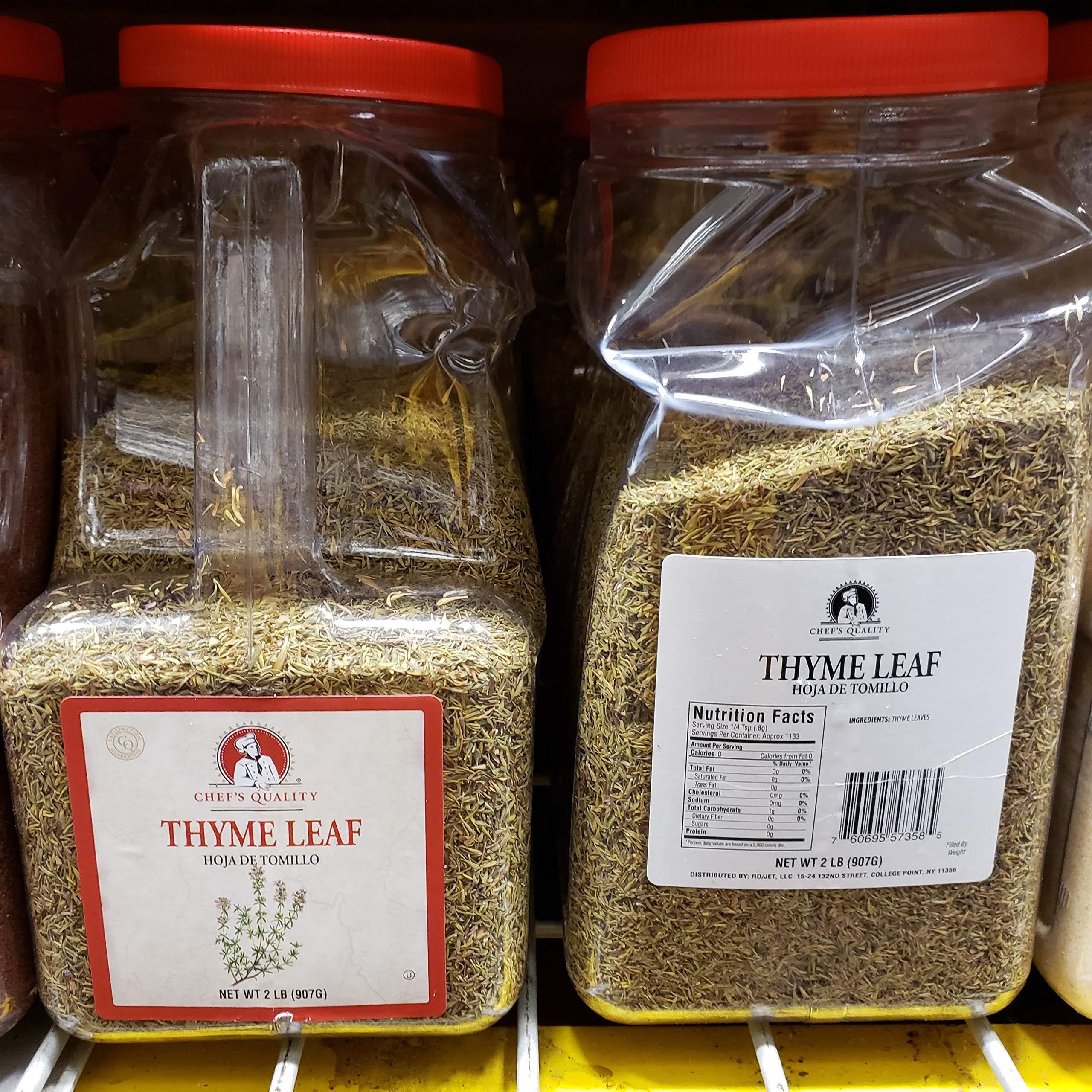 Chef's Quality Thyme Leaf 2 lbs