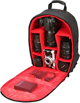 Amazon Com Camera Bag Waterproof Camera Backpack 16 X 13 X 5 By G Raphy With Tripod Holder For Cameras Lenses Flashes And Other Accessories Camera Photo