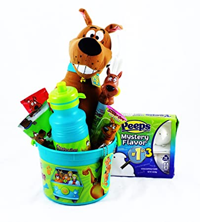 Amazoncom Scooby Doo Mystery Gang Candy And Toy Easter Basket