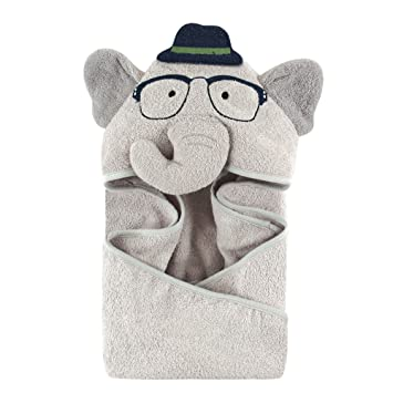 c3d3e4e5bf5e Amazon.com   Hudson Baby Animal Face Hooded Towel