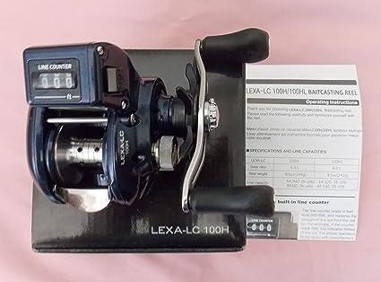 5f22bbe8409 Amazon.com : Daiwa Lexa 100 Line Counter J-Braid RIGHT HAND LEXA ...