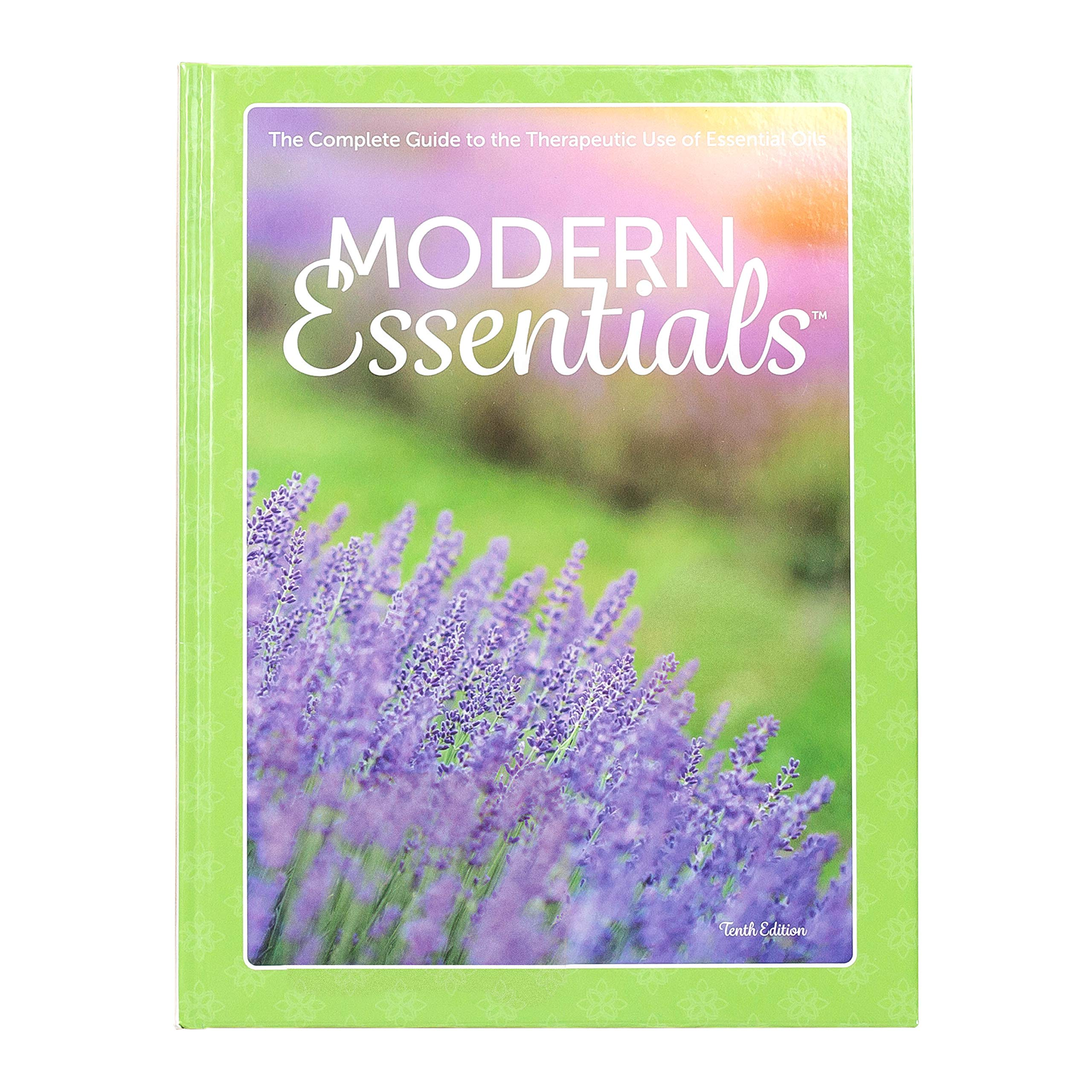 Modern Essentials 10th Edition, Essential Oil Reference Book featuring doTERRA oil names & new 2018 released oils by AROMATOOLS