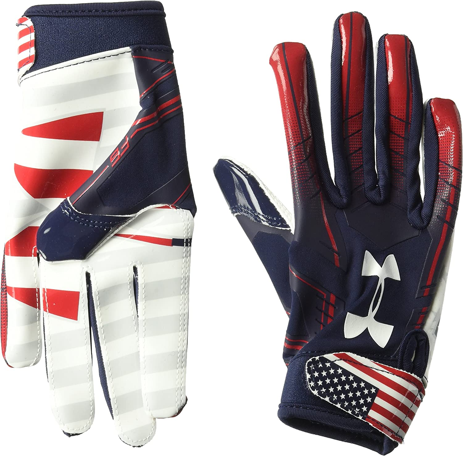 Degenerar Gobernar Leo un libro  Amazon.com : Under Armour Boys F6 Le Gloves : Clothing