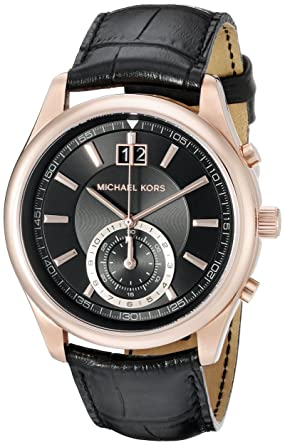 Michael Kors Mens Aiden Black Watch MK8460