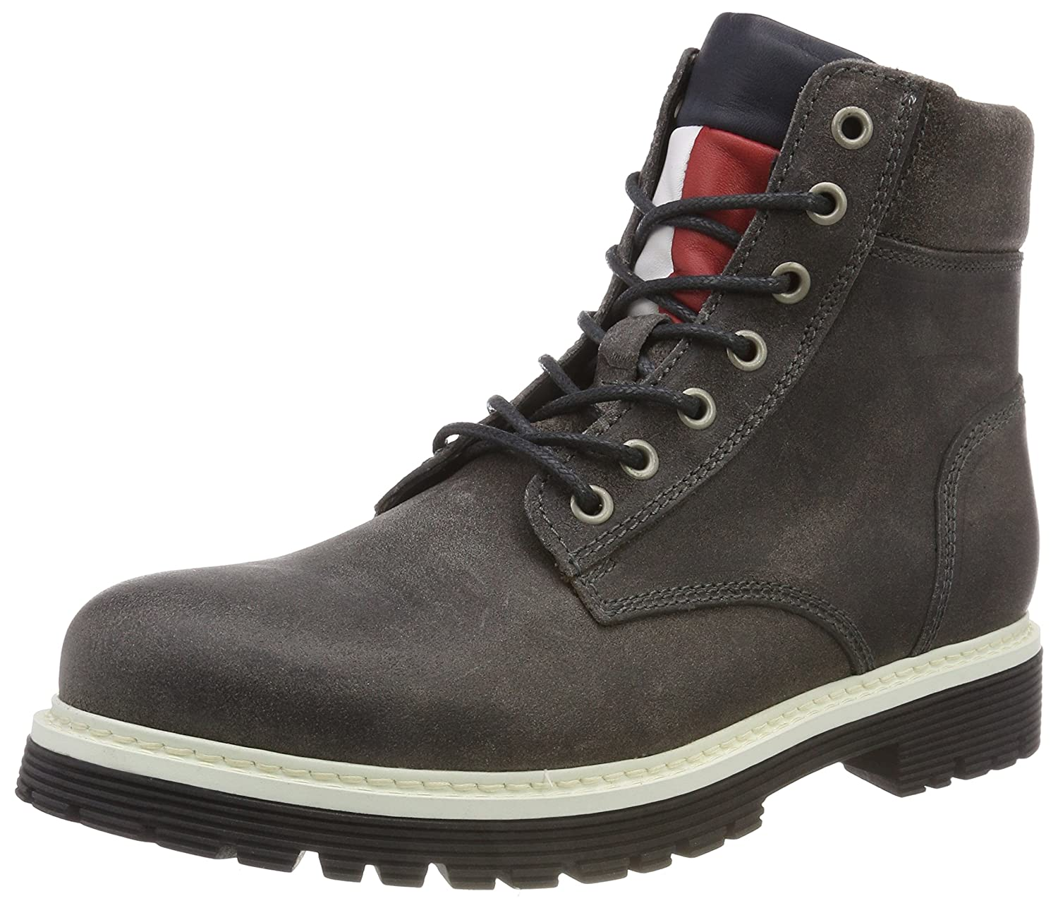 Tommy Jeans Iconic Suede Boot, Botas Militar para Hombre