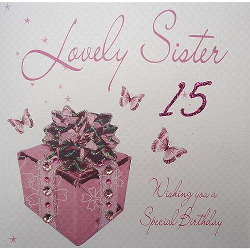 15th Birthday Card Amazon