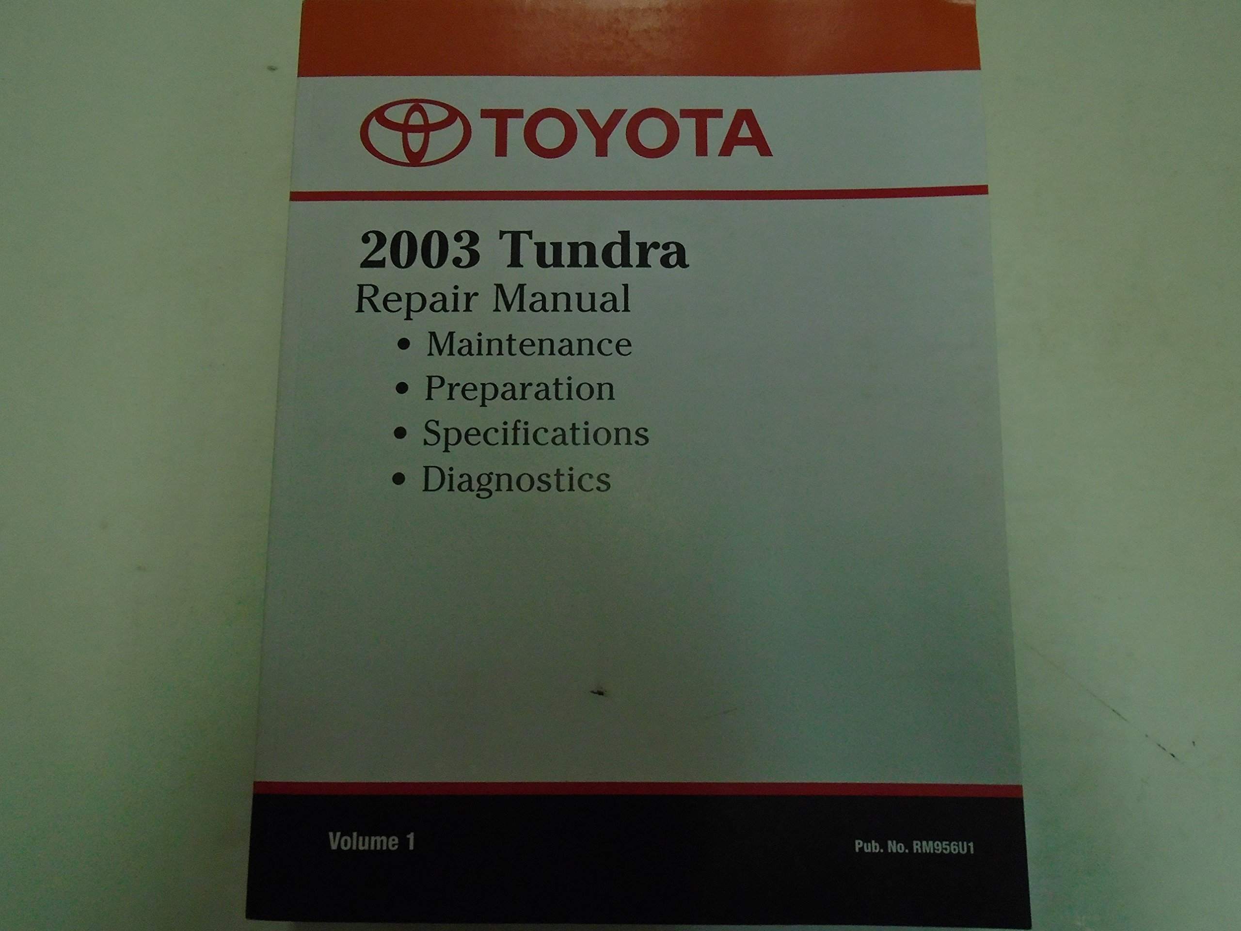 2003 Toyota Tundra Repair Manual Complete Wiring Diagrams Diagram Service Shop Vol 1 Oem Volume Rh Amazon Com