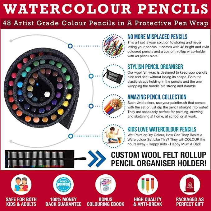 Amazon CrewbieStore Color Pencils