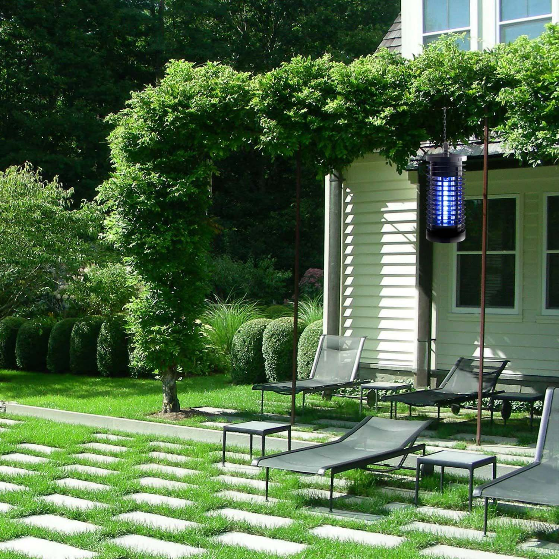 TEESUN Outdoor Bug Zapper Electric Mosquito Killer Indoor Fly Insect Repellent Lights Lamp UV Trap Lantern for Camping, Home, Backyard, Patio, Porch, Garden, Deck by TEESUN