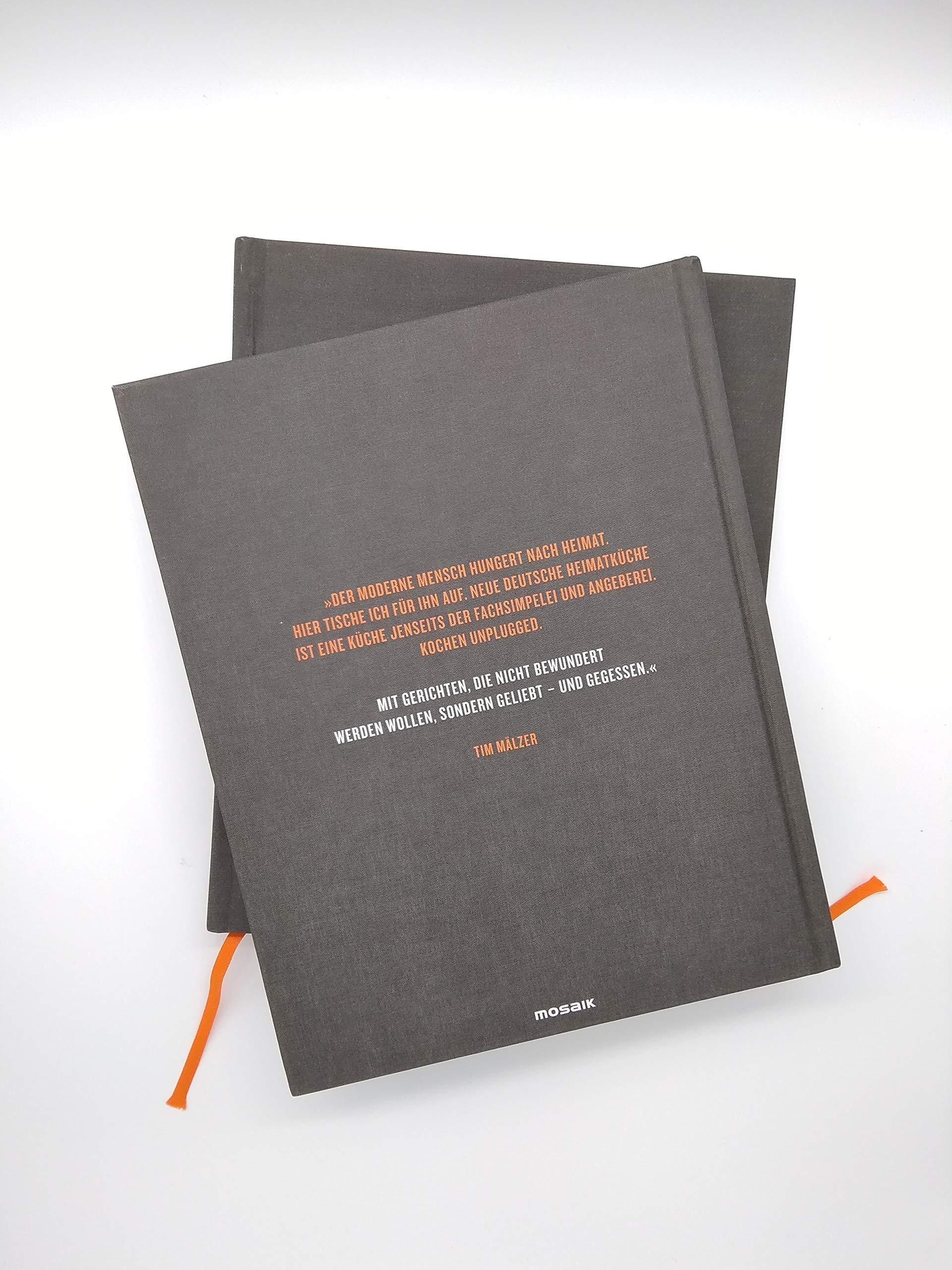 Neue Heimat Kochbuch Mit Uber 100 Rezepten In Hochwertiger Ausstattung Mit Leineneinband Tiefpragung Und Lesebandchen Amazon De Malzer Tim Bucher