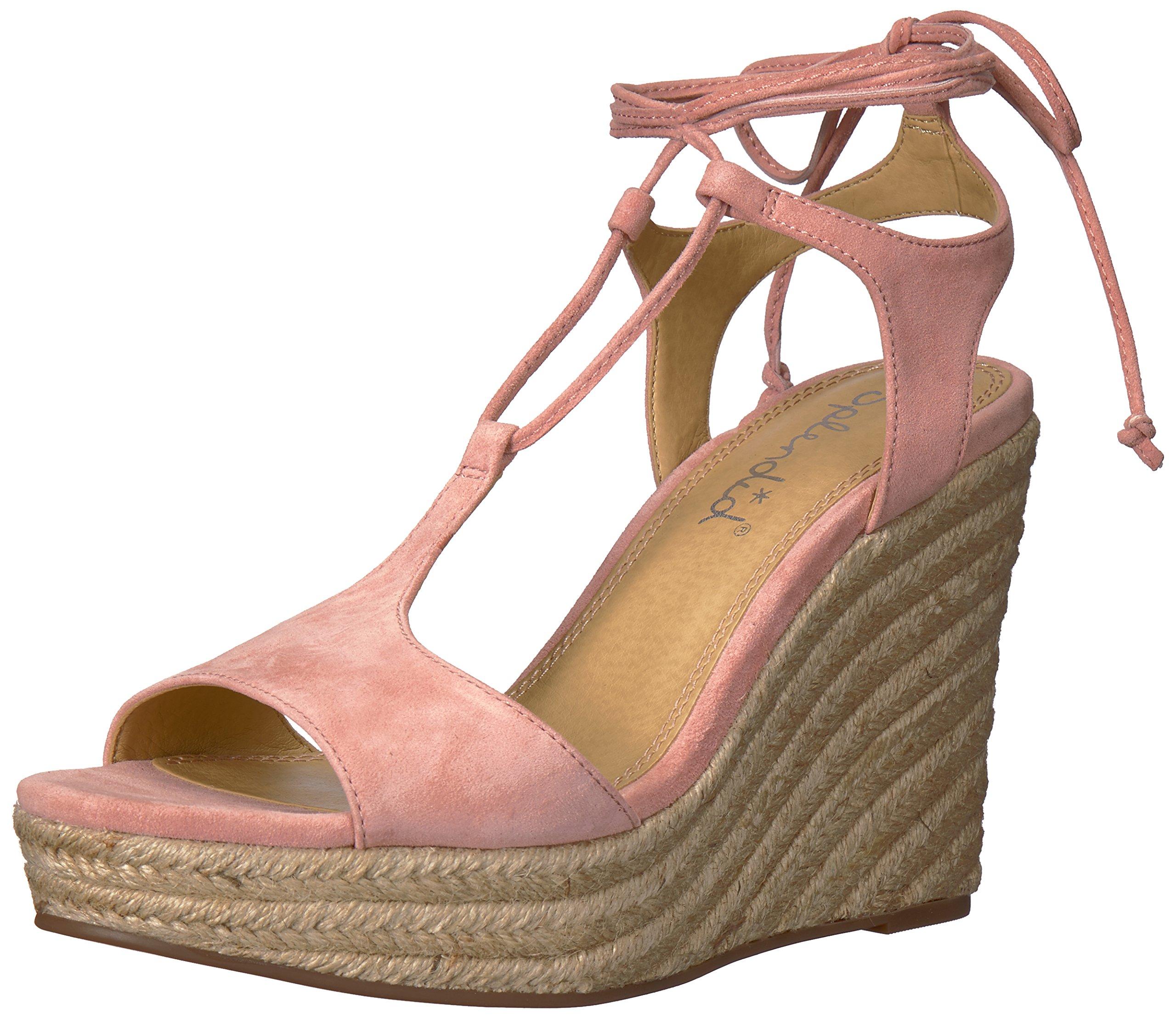 Splendid Women's Fianna Wedge Sandal, Blush, 11 Medium US