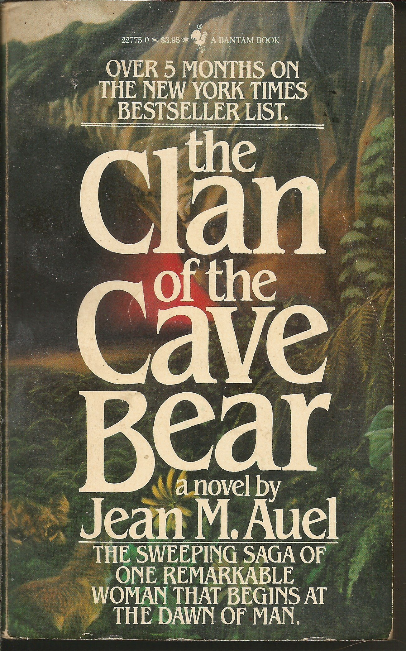 The Clan Of The Cave Bear Earth S Children V 1 Jean M Auel