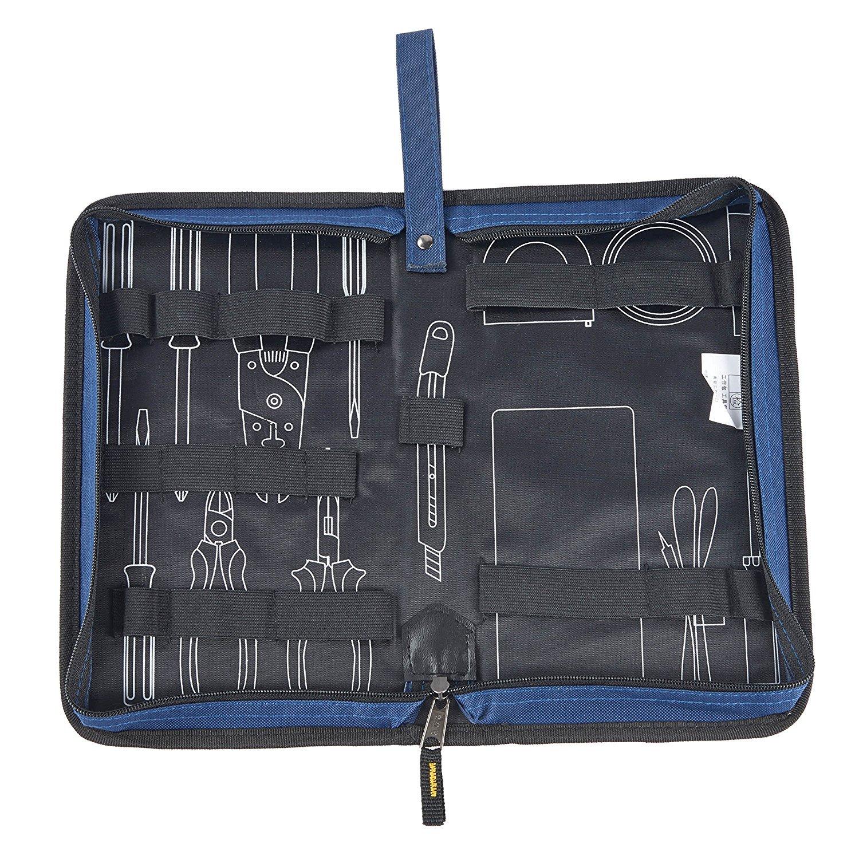 Babimax Zipper Tool Bag Organizer Storage Pouch Box for Universal Electronics Repair Tool Accessories