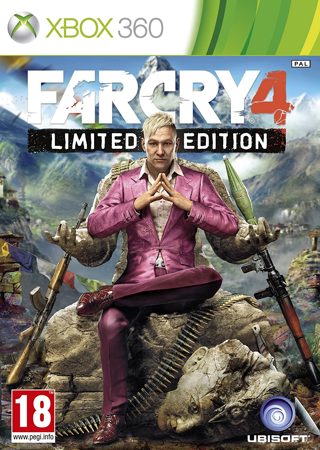 Far Cry 4 Limited Edition Xbox 360 Amazon Co Uk Pc Video Games