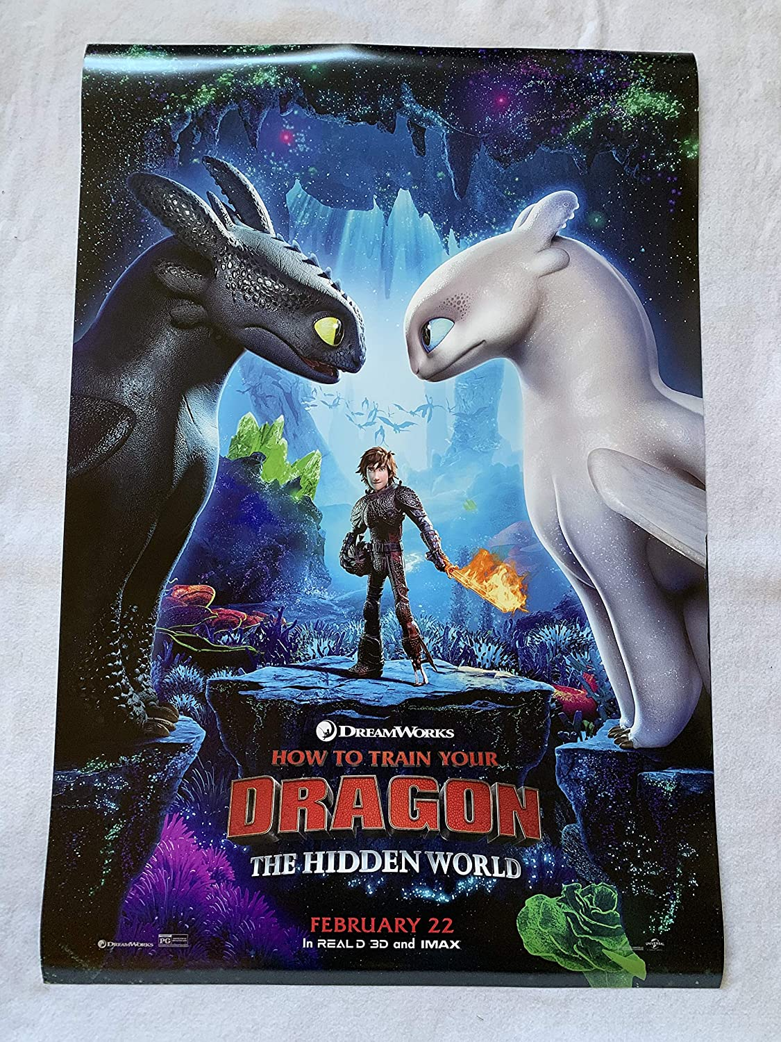 How To Train Your Dragon Hidden World 27x40 D S Original Movie Poster One Sheet 2019 At Amazon S Entertainment Collectibles Store