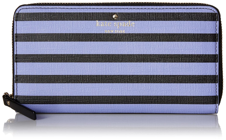 Kate Spade New York Women's Fairmount Square Lacey Money Piece Black/Thistle Clutch