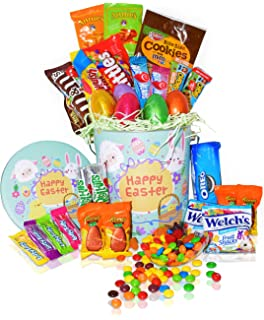 Amazon disney princess easter basket great for little girls easter snack gift tin basket 29 count easter candy eggs easter chocolates negle Images