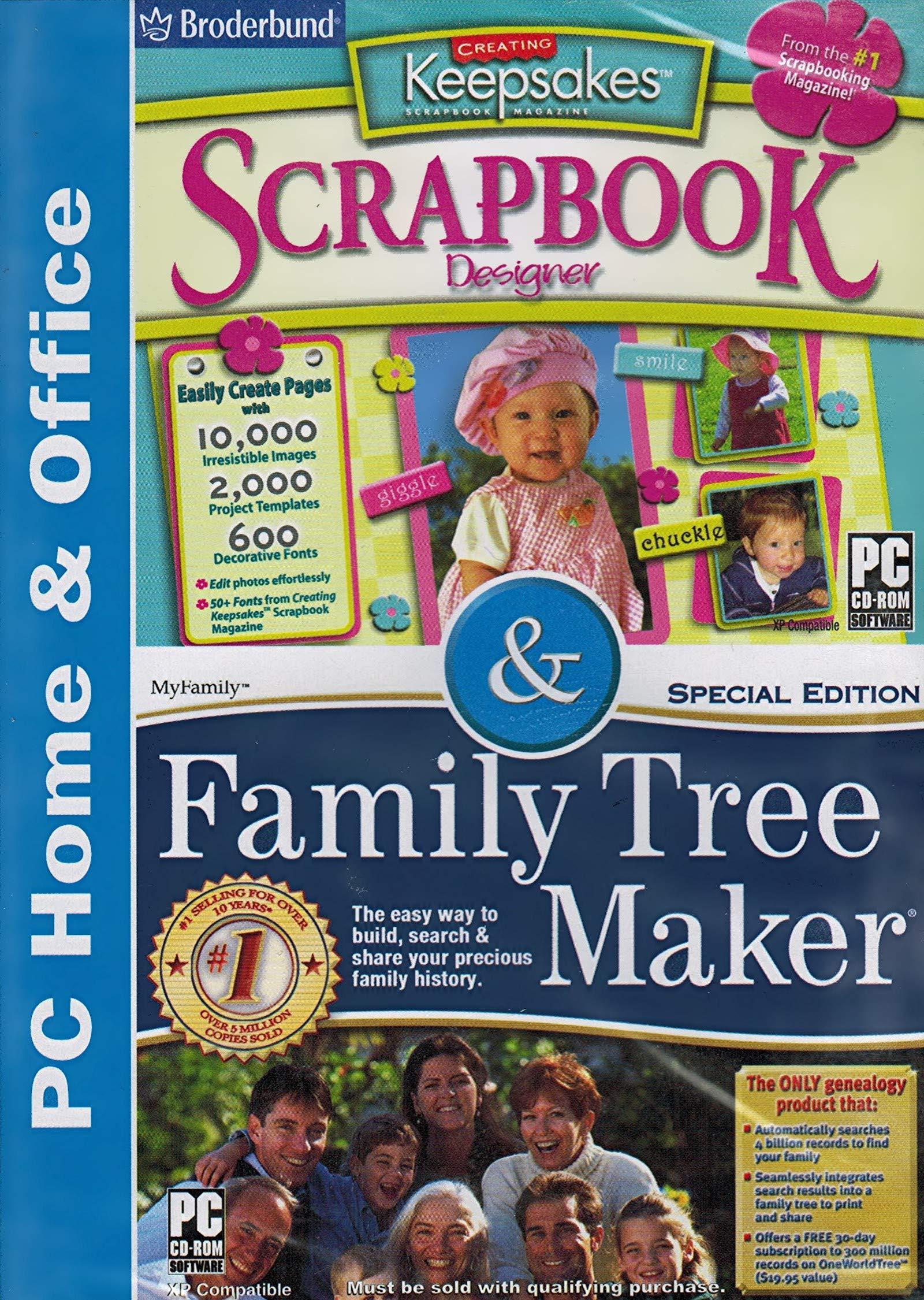 Scrapbook Designer & Family Tree Maker By Broderbund by Creating Keepsakes Scrapbook