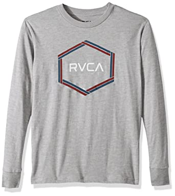 3010aa9a Amazon.com: RVCA Boys Hexest Long Sleeve Tee: Clothing
