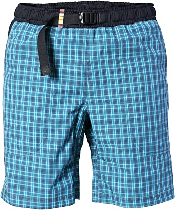 REJOICE® Moth Shorts - Pantalones Cortos/Bermudas con cuadritos para Hombres Boulder, Escalada, Trekking, Senderismo. Verano/Primavera.
