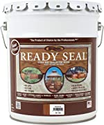 Ready Seal 520 Exterior Stain and Sealer for Wood, 5-Gallon, Redwood