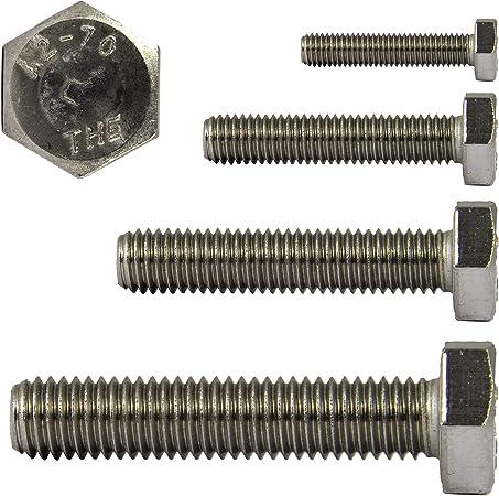 VPE = 50 St/ück Sechskantschrauben M12 X 40 DIN 933 Edelstahl A2