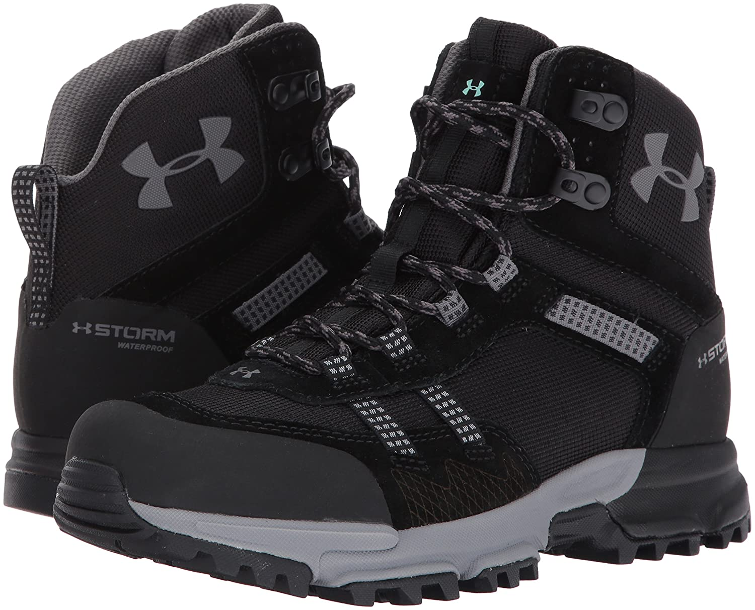 Under Mid Armour Women's Post Canyon Mid Under Waterproof Hiking Boot B01MRZLWGI 7.5 M US|Black (001)/Black 1be881