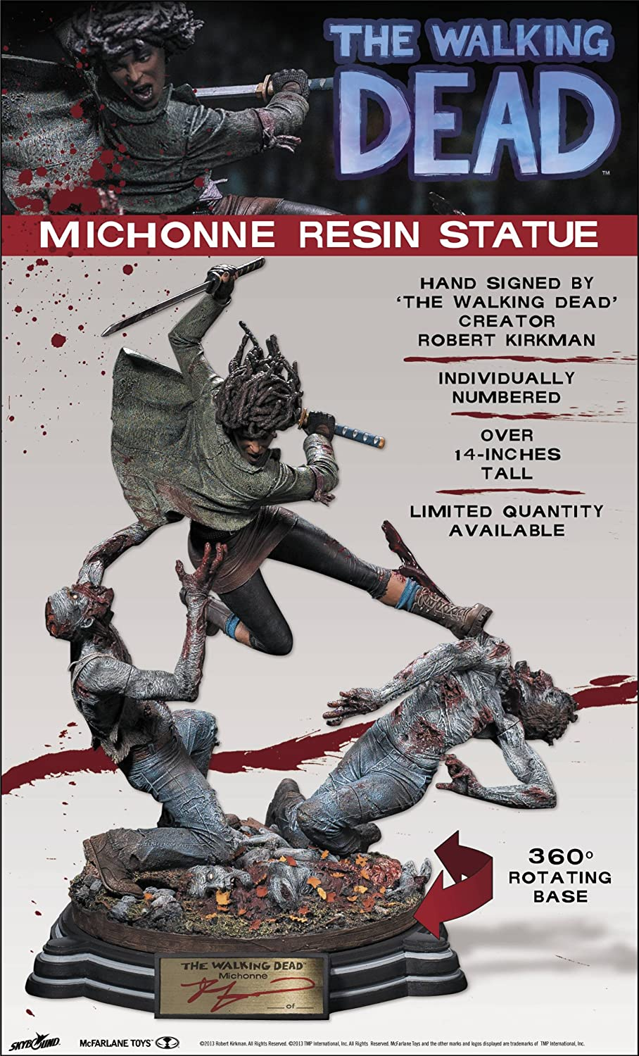 McFarlane Toys The Walking Dead Michonne Statue (Limited Edition)