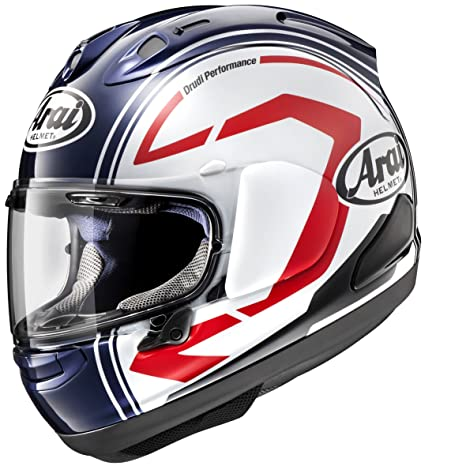 Arai RX-7V Statement Casco Integral de Moto con Visera, Blanco