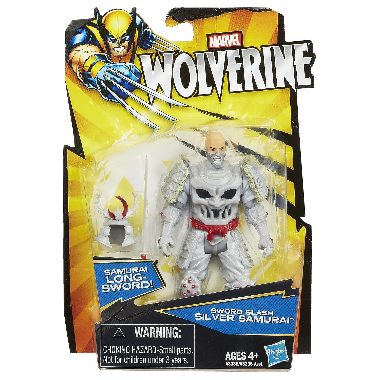 Figura Marvel Wolverine (Lobezno) Sword Slash Silver Samurai ...