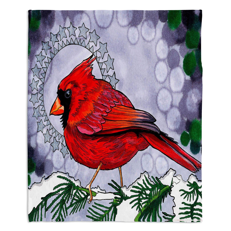 ブランケットウルトラソフトFuzzy 4サイズダイアノウチェデザインズ – RachelブラウンCosmo cardinalhome装飾寝室ソファまたはスローブランケット Large 80