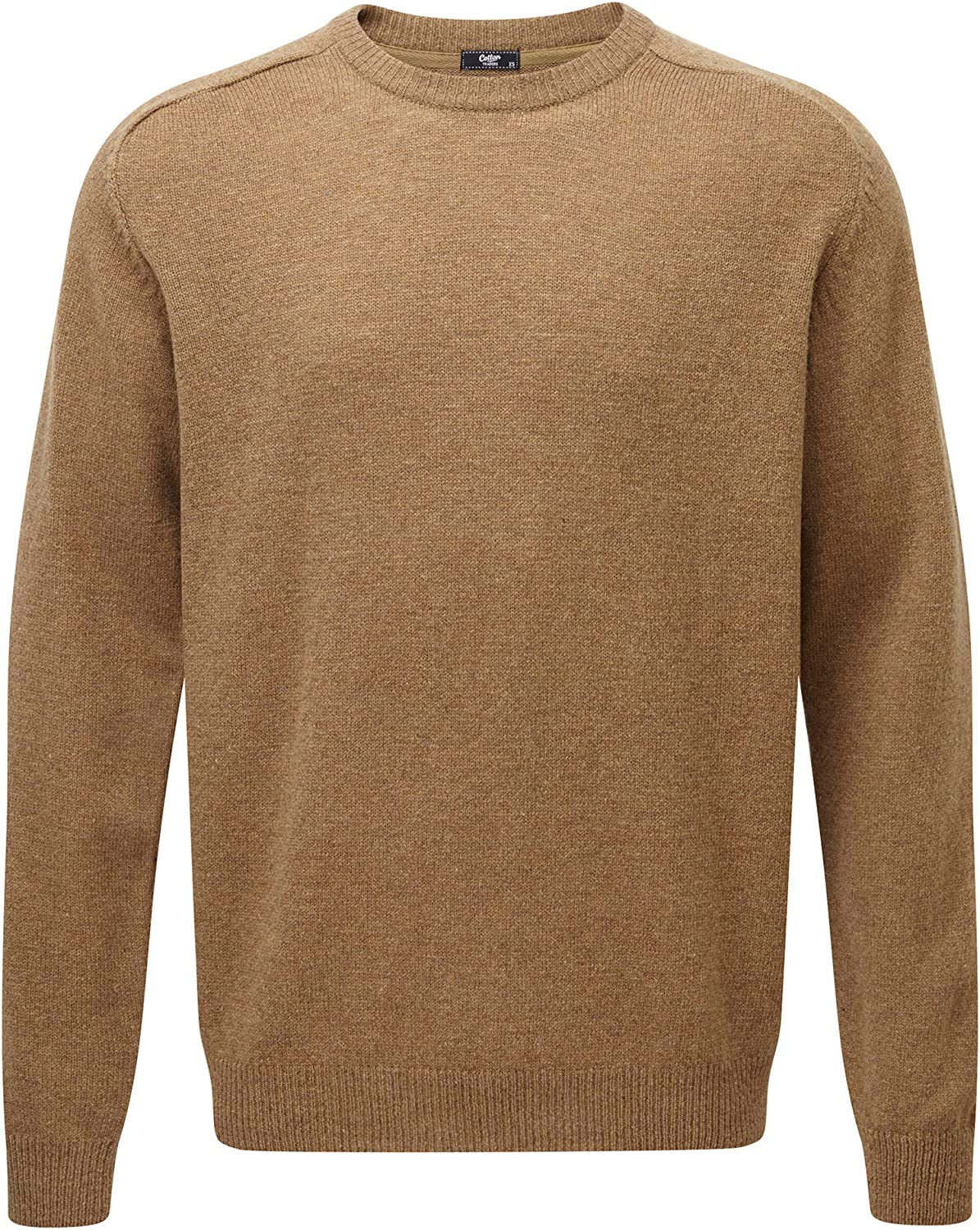Cotton Traders Mens Lambswool Rich Jumper Crew Neck Winter
