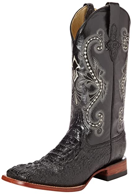24914c3ef61 Ferrini Men's Print Crocodile S-Toe Western Boot