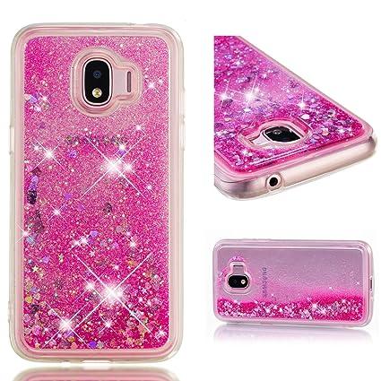 e830e5eeb21 WindTeco Funda para Samsung Galaxy J2/J2 Pro 2018 / Grand Prime Pro  Brillante,