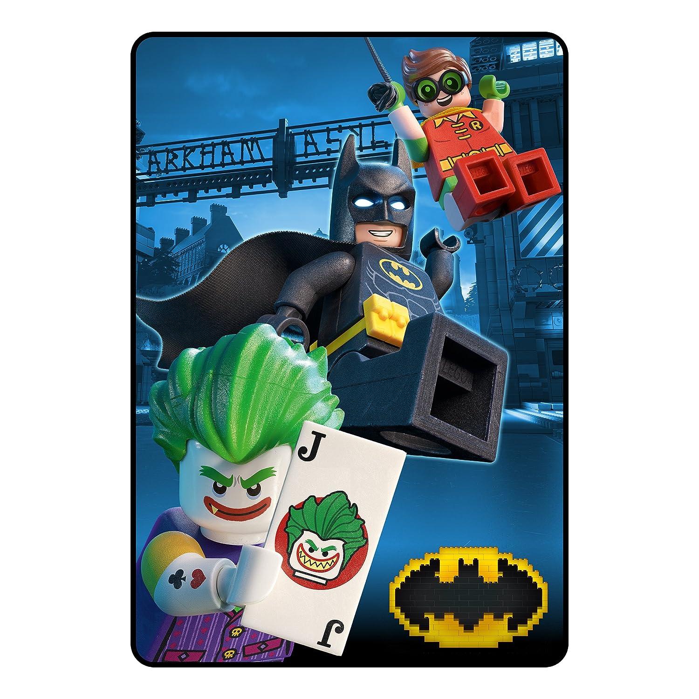 0564a27af5 Amazon.com  LEGO Batman Dark Grey Hero Microraschel Blanket