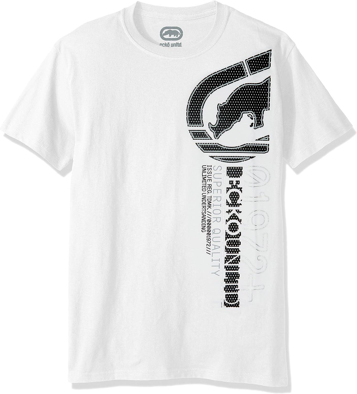 Ecko UNLTD Men's Upright Short Sleeve  Tee Shirt