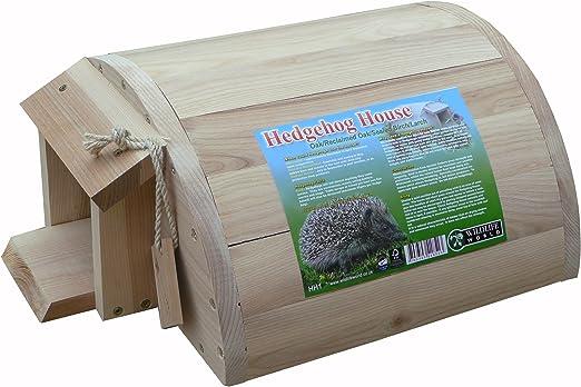 Casetta per riccio tetto in legno natura di ibernazione un riparo a casa nido