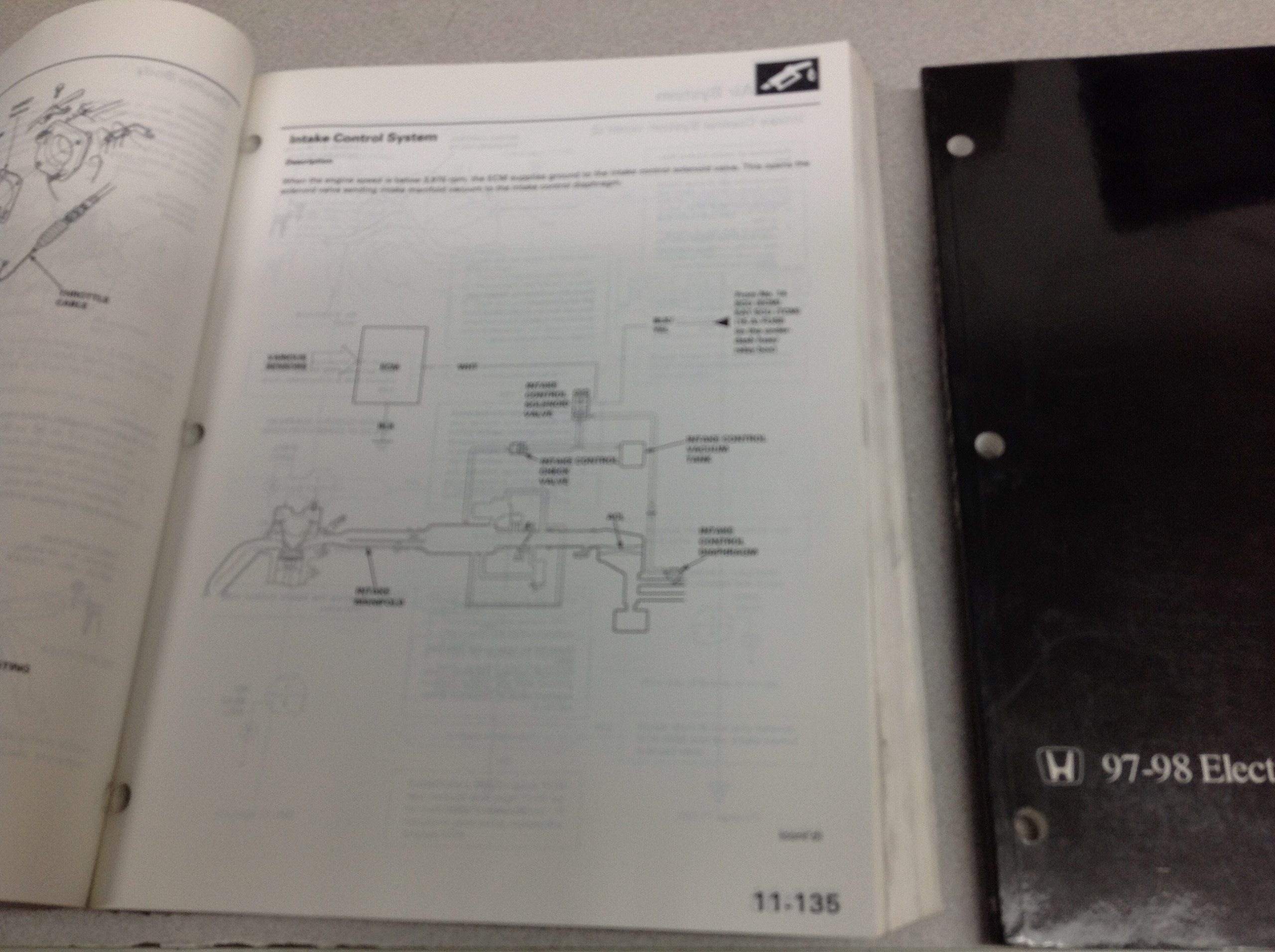 1998 Honda Prelude Service Shop Repair Manual 1997: Honda: Amazon.com: Books