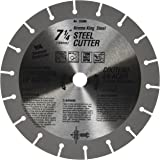 Vermont American 25306 5/8-Inch Arbor 7-1/4-Inch 18 Tooth Krome King Steel Cutting Saw Blade