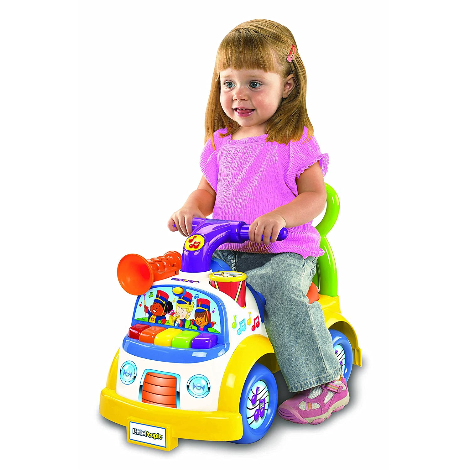 Amazon Fisher Price Little People Music Parade Ride Toys