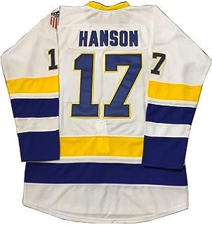 d74cfec9b Kooy Steve Hanson  17 Brothers Charlestown Jersey Slap Shot Movie Hockey  Charleston