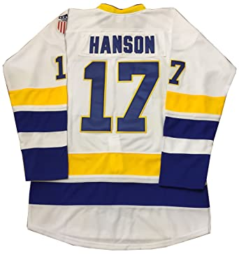 Kooy Steve Hanson  17 Brothers Charlestown Jersey Slap Shot Movie Hockey  Charleston (M) 6cfd004ef