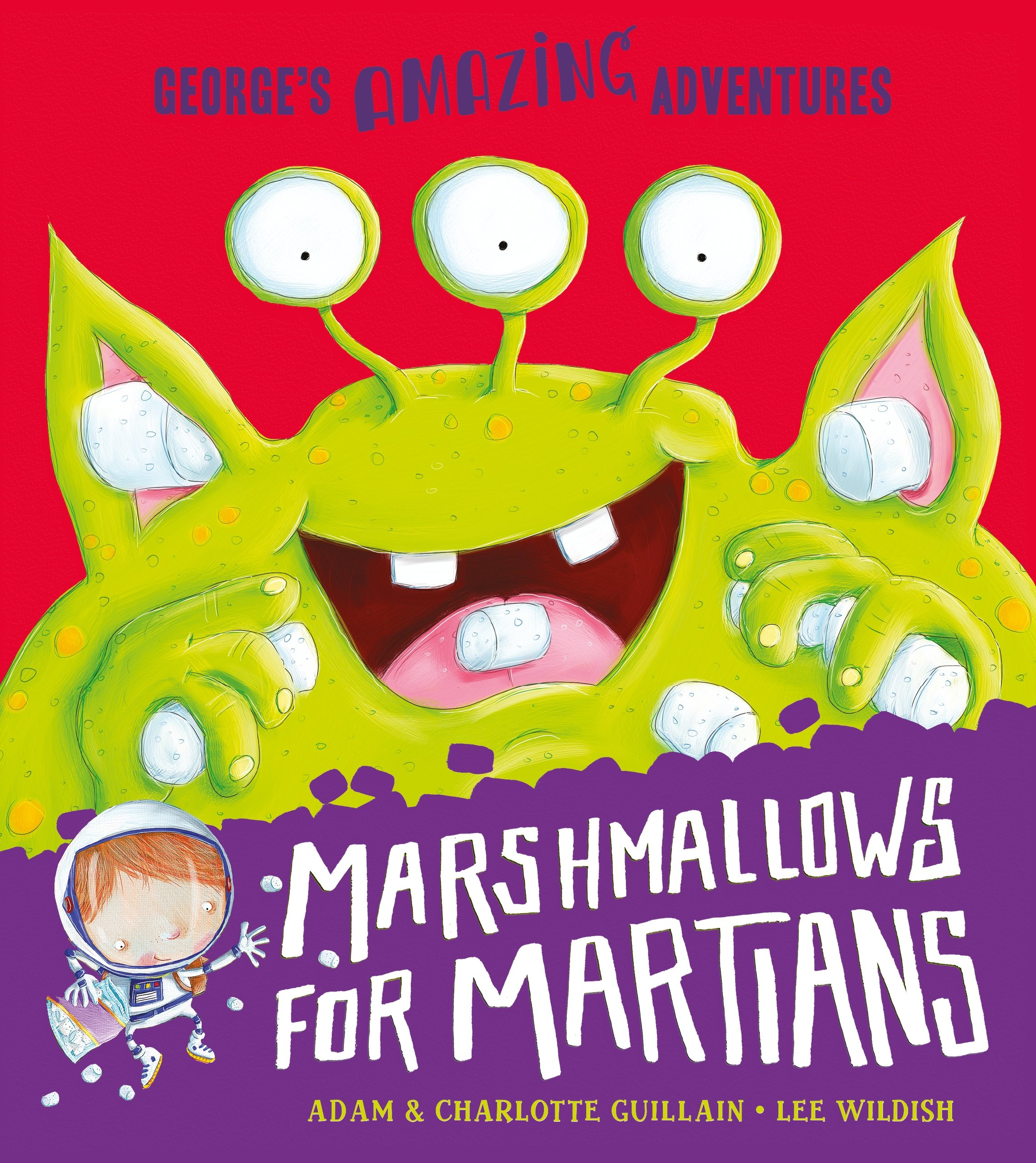 Marshmallows for Martians (George's Amazing Adventures) by imusti