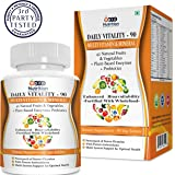 ProNutrition Multivitamin with 42 Vitamins & Minerals Enzymes & Probiotics - 90 Tablets, Fortified With Wholefoods & Herbal Ingredients for Enhanced Bio-Availability, Rich in A B C & D3 Vitamins And 42 Fruit & Vegetable Blends Non GMO Source
