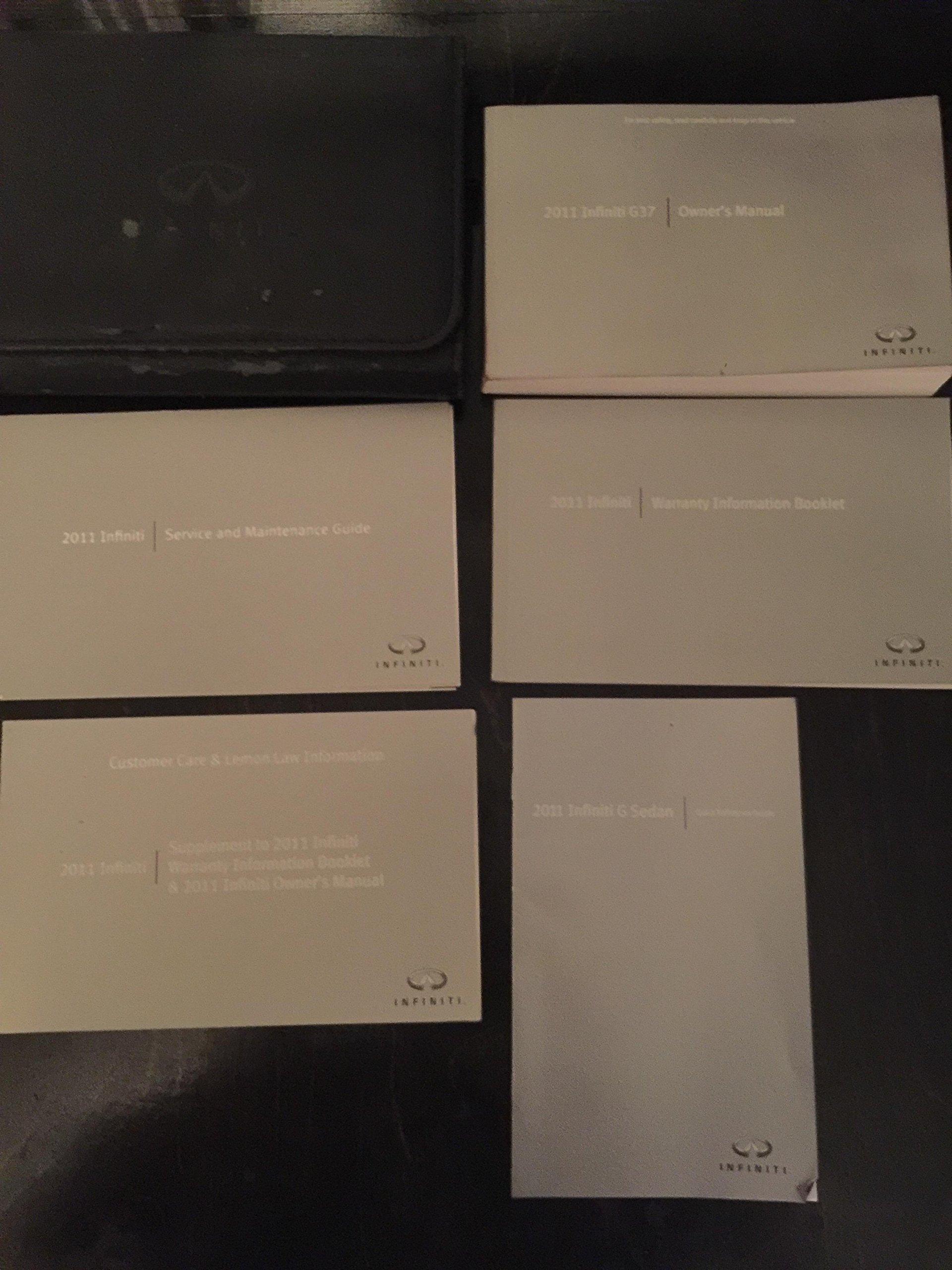 2011 infiniti fx35 owners manual