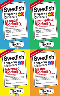 Swedish Frequency Dictionary For Learners: Practical Vocabulary