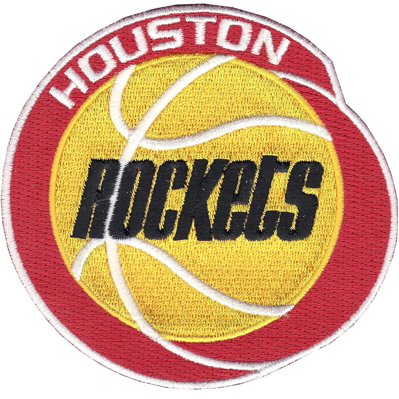 891002bd418 Amazon.com : Houston Rockets Throwback Era Logo Patch : Applique Patches :  Sports & Outdoors
